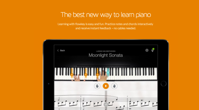 FLOWKEY- DISCOVER THE NEW WAY TO LEARN PIANO! - AppsListo
